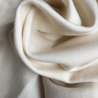 Cross-Twill in nature white, wool + alpaca, 425g