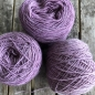 Preview: lilac wool yarn sewing weaving plantdyed