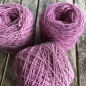 Preview: antique pink wool yarn sewing weaving plantdyed