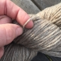 Preview: Soft twined wool yarn