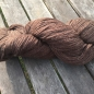 Preview: Soft new wool yarn 6/3, natural colour brown