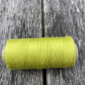 Silk Yarn Schappe 120/2 lime, 10g