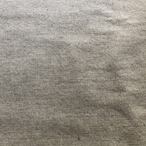 Natural coloured wool beige plain weave